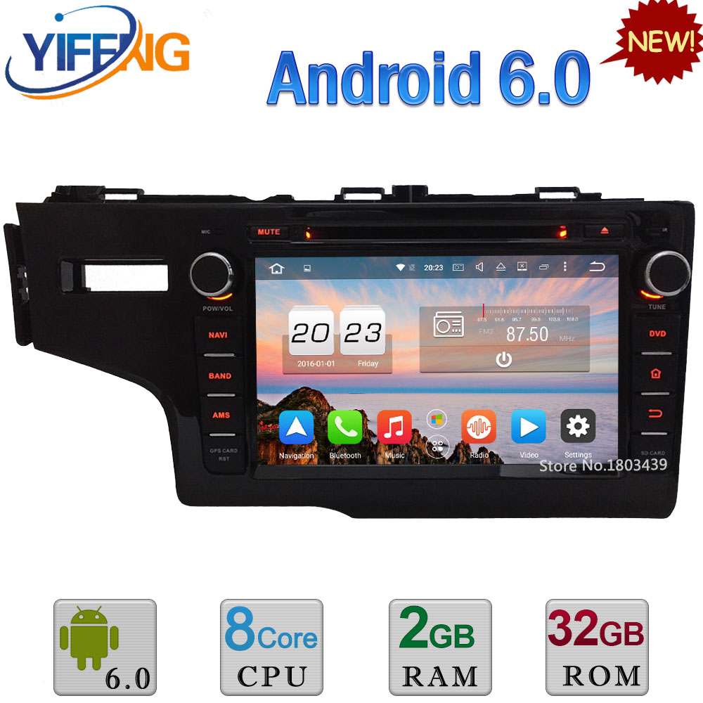 4G Android 6 0 8 32GB ROM Octa Core 2GB RAM FM WiFi Car DVD Video