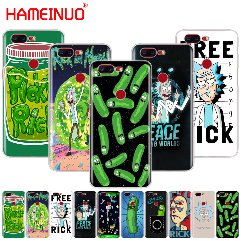 HAMEINUO Rick and Morty cover phone case for <font><b>Oneplus</b></font> one plus 5T <font><b>5</b></font> 3 3t 2 A3000 <font><b>A5000</b></font> image