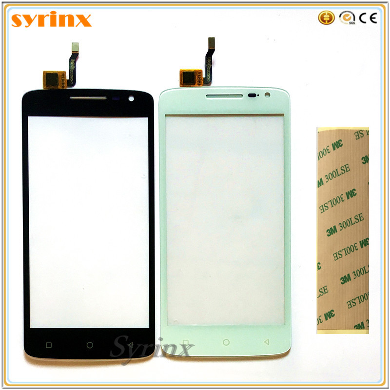 SYRINX 5.0 INCH Touch Screen For DEXP Ixion EL250 Touch Panel Digitizer Screen Touchscreen Front Glass 3m Tape Moblie Phone