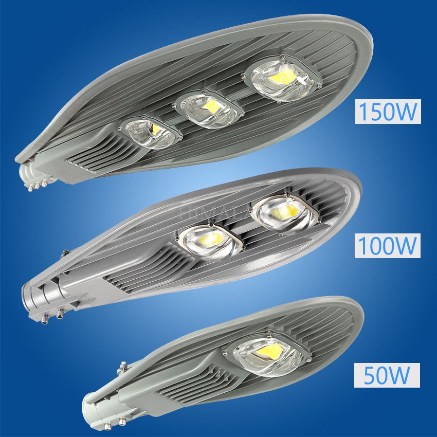 toika 4pcs outdoor lighting led street light 30w 50w 100w 150w led street lightled lamp garden