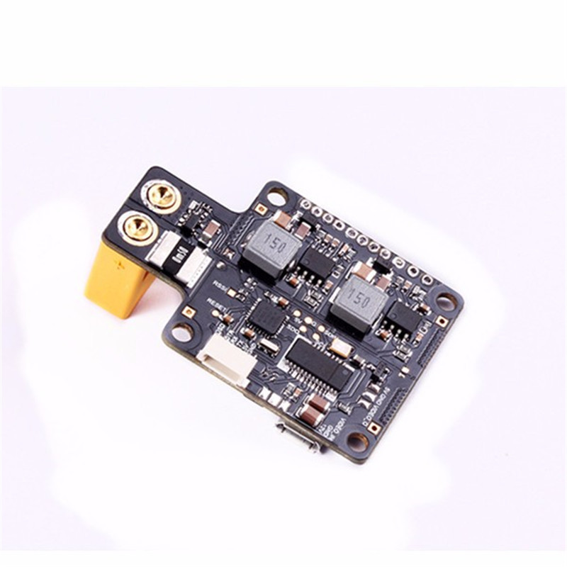 ФОТО New Arrival  STM32F4 F4 V3.0 Racing Flight Control With BEC/PDB/OSD/XT60 For Multirotor