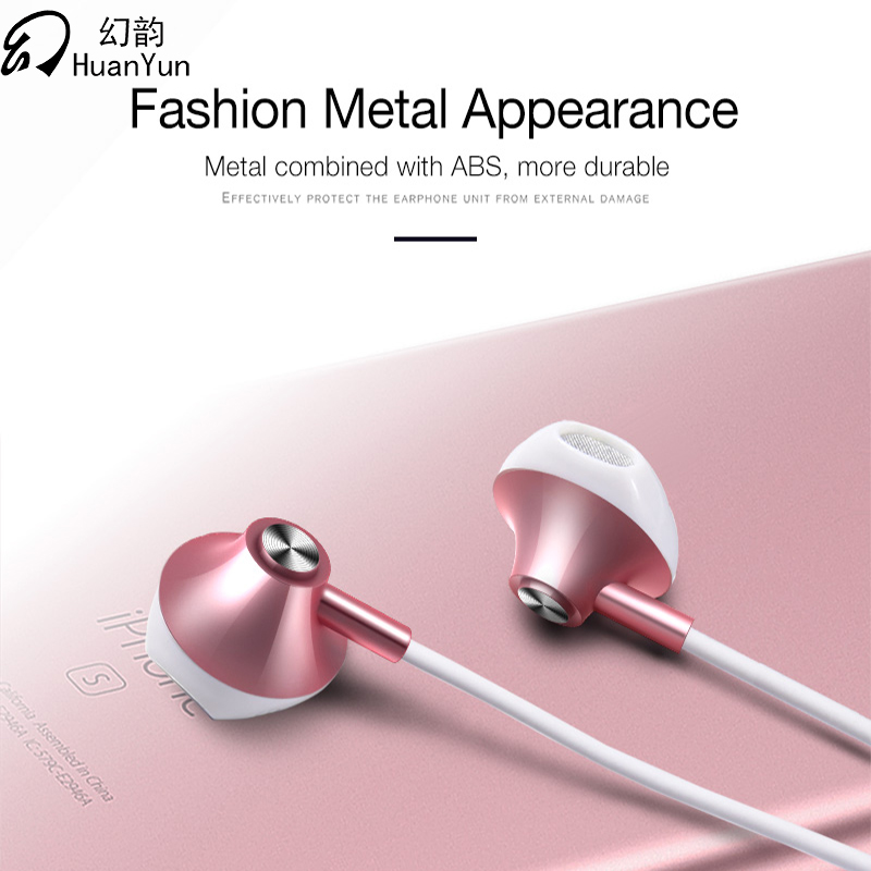 все цены на Wired Earphone for Xiaomi Iphone Samsung Huawei with Mic Music 3.5mm for Phone In-Ear Metal bass Headsets Sport Stereo Earbuds онлайн