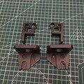 1 Juego de soportes de motor de aluminio anodizado negro Prusa i3 MK3 oso z eje izquierdo/derecho inferior Z superior derecha/izquierda kit de actualización
