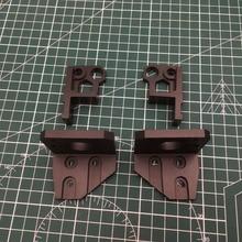 1 セットブラックアルマイト Prusa i3 MK3 クマ z 軸左/右モータマウント底 Z 右上 /左アップグレードキット