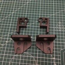 1 zestaw czarny anodyzowane aluminium Prusa i3 MK3 bear z osi lewy/prawy mocowania silnika dolny Z góry prawo/lewo upgrade kit