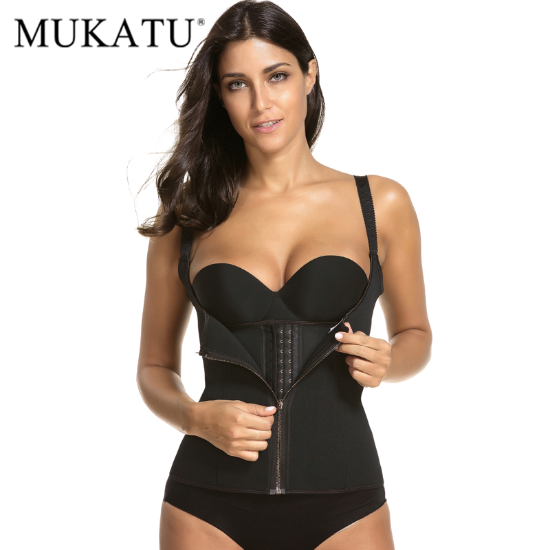 Underwear & Sleepwears Adjustable Shoulder Strap Waist Trainer Vest Corset Women Zipper Hook Body Shaper Plus Size Waist Cincher Tummy Dropshipping Hot Bustiers & Corsets
