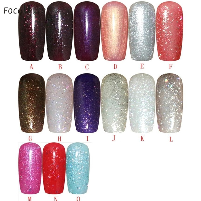 Beauty Girl Fashion Nail Polish Gel UV And LED Bright Colorful Colors 5ML Oct 13