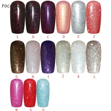 Beauty Girl Fashion Nail Polish Gel UV And LED Bright Colorful Colors 5ML Oct 13
