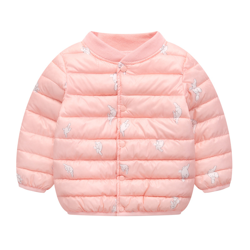 Girls Jackets 2021 Children Outerwear Coat Winter Baby Boys Girls Cardigan Jacket Toddler Warm Coat Kids Clothes For 3-7 Years 2