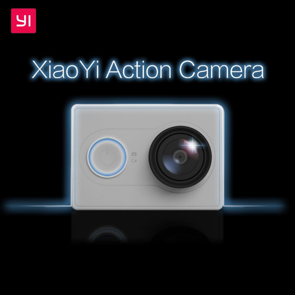 Prix pour Version internationale! d'origine Xiaomi Yi D'action Caméra XiaoYi Étanche Caméra 1080 P 60fps 16MP WIFI Bluetooth 4.0 Sport Cam
