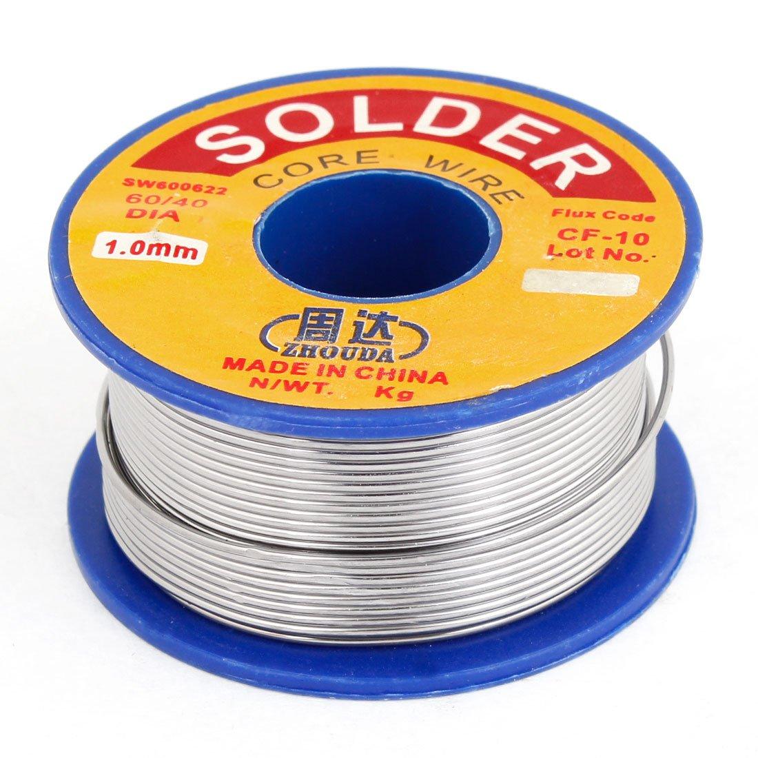 Promotion! 1mm Diameter Tin Lead Rosin Core Solder Soldering Wire Reel 1mm 500g rosin core solder 60 40 tin lead 2 0