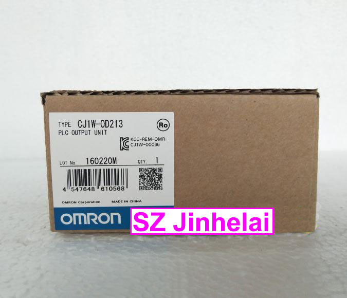 100% New and original CJ1W-OD213 (CJ1W-0D213) OMRON PLC OUTPUT UNIT dhl eub 2pcs original for omron new cj1w pd022 sha03 cj1wpd022 plc module 15 18