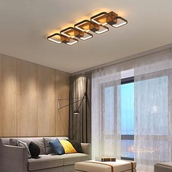 Led pendant light Simple modern Creative acrylic bedroom living room study Indoor Lighting RC Dimmable Pendant light