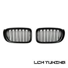 цена на For BMW X3/X4 Series F25/F26 2014-on Double Slats Gloss black/Matt black/Triple Color+Chrome Front Grille