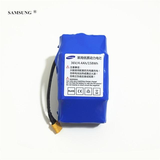 4400 для SAMSUNG 36 В в 4.4AH 100% мАч динамическая литий-ионная батарея для электрического баланса скутеры источник питания