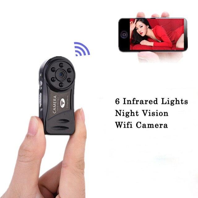 Мини-Камера Wi-Fi 720 P HD Инфракрасного Ночного Видения Беспроводной Секрет Камерой Securtity Няня Видеокамеры Камара Espia Скрытая IP Hidde