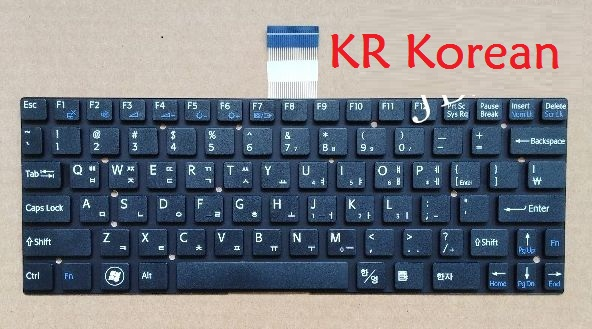 Laptop Keyboard for SONY SVT111 SVT111B11T SVT111A11T SVT1111C5E SVT1111M1E black without frame RU Russian TI Thailand KR Korean ru laptop keyboard for lenovo for ibm t440s t440p t440 e431 t431s e440 l440 t450 black new russian with pointing stick backlight