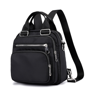 Image 1 - 여성 나일론 배낭 방수 여성 디자이너 어깨 가방 만화 인쇄 배낭 미니 캐주얼 bagpack sac 주요 소녀 가방