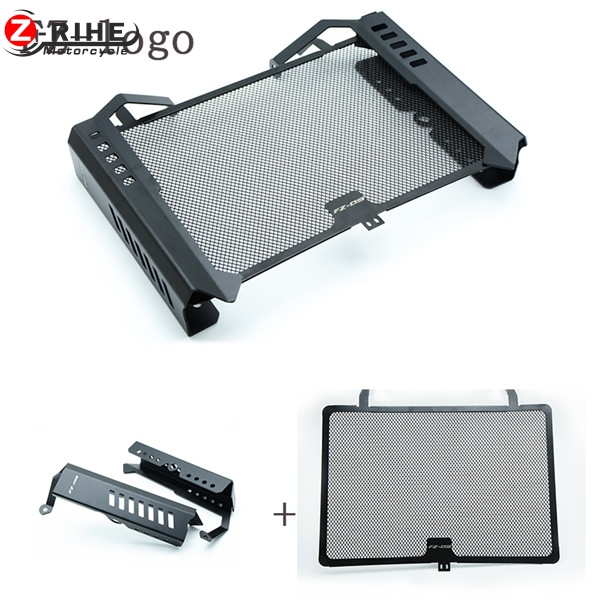 For YAMAHA MT09 MT-09 FZ09 Radiator Grille Grill Cover Protector Guard With Side Guard fz09 2013 2014 2015 MT09 MT-09 FZ09 FZ-09 motorcycle cnc radiator grille radiator side guard cover protector for yamaha fz09 mt09 mt 09 2014 2015 2016