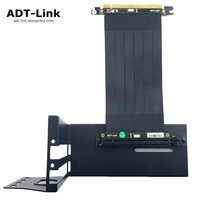 GTX Graphics Card Bracket Extension Cable Riser Fixed vertical ATX Case PCI e 16x x16 DIY Internal Brackets holder Stent Stand