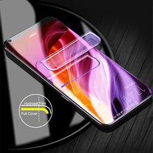Full Cover Soft Hydrogel Film for Xiaomi 9 8 Lite SE Mix 3 Max PocoPhone F1 Screen Protector For Redmi Note 7 6 5 Pro