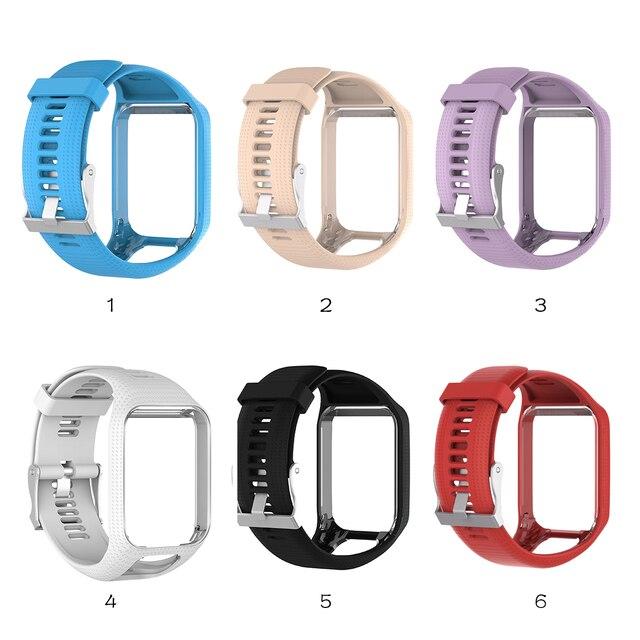 Centechia Dobra Sprzedaż Wymiana Wrist Band Pasek Silikonowy Do TomTom  Runner 2 3 Spark 3 GPS 3dd2277211a