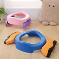 Bebê Infantil Treinamento do Toalete Penicos Dobráveis Portátil 2 em 1 Assento Potty Anel Indoor & Outdoor Conjunto De Viagem, Forros azul Livre