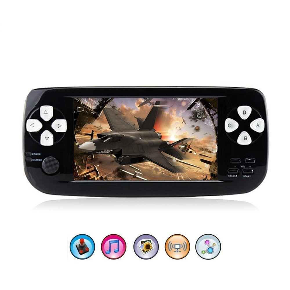 PAP K3 Retro Mini Console Classic Game player 8 Bit Portable Handheld game console family pocket console game portable mini game portable 3 inch 16 bit handheld game console black and blue