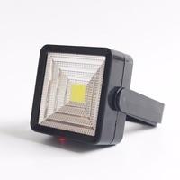 New USB Rechargeable COB LED Flashlight Working Folding Hook Portable Lantern Light Lamp Torch With Bracket