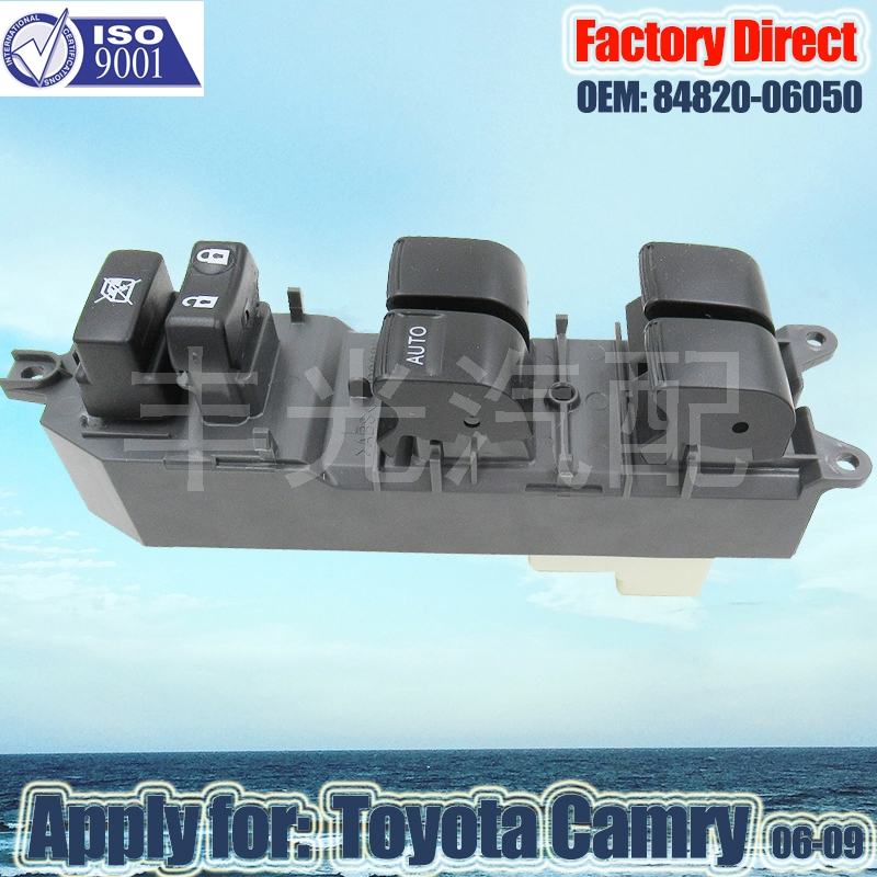 Factory Direct Auto Master Power Front Left Window Switch Apply For Toyota Camry LHD 06-09 84820-06050 848200