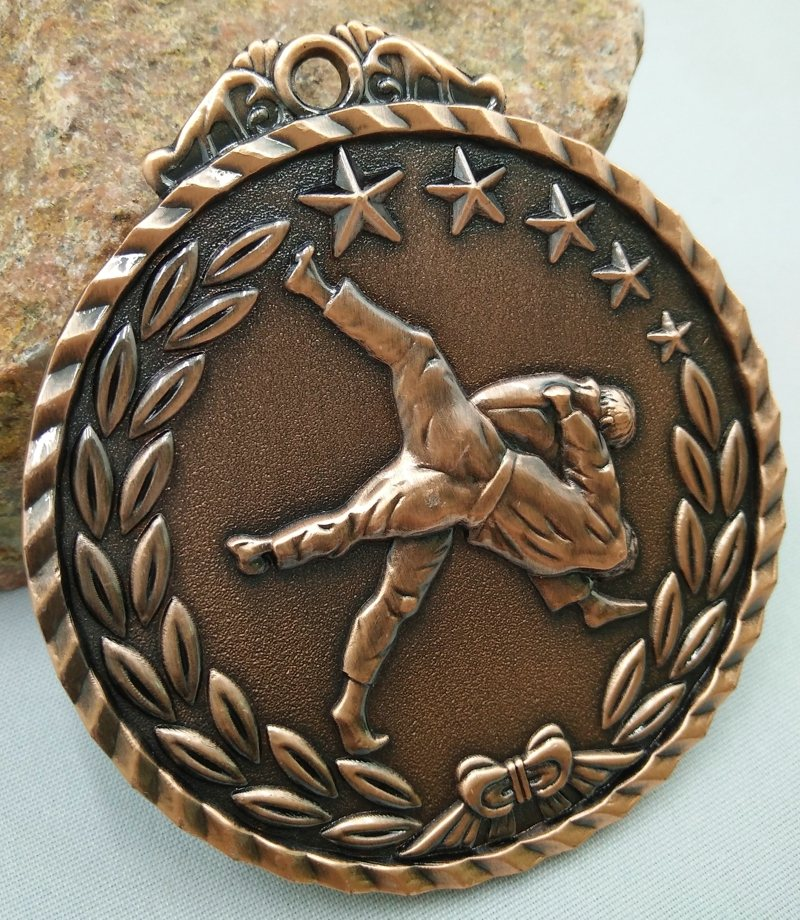 Wrestling Competitions School Sports Medal Gold Silver Sport Communication Ability/self-confidence Developing Unisex Gymnastics