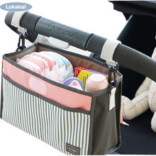 Baby Stroller Bag Organizer Infant Toddler Nappy Diaper Bag Multifunctional WaterProof Mummy Bag For Mother Baby Care
