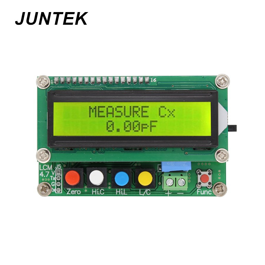 Juntek Lc 100a Digital Lcd Capacitance Inductance Meter 1pf Circuit Universal Capacitive Screen Touch Pen For Smart Devices Black