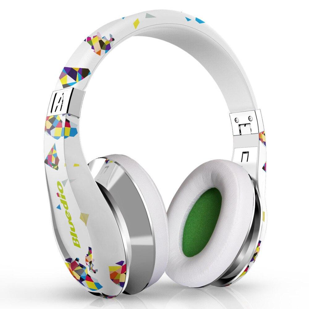 ФОТО Bluedio A (Air) Fashionable Wireless Bluetooth Headphones with Microphone, HD Diaphragm, Twistable Headband, 3D Surround Sound
