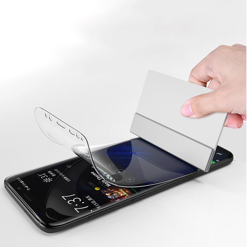 Hidrogel de tela de Cinema Para samsung galaxy A30 A50 COMPLETA Película Protetora Para Samsung S8 S9 S10 PLUS S10E M10 M20 protetor Filme
