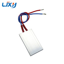 LJXH 2PCS PTC Ceramic Heater Thermostat 170/200/230/270Degrees Aluminum Shell Size 50x30x5mm PTC Heating Plate Tablet Insulation
