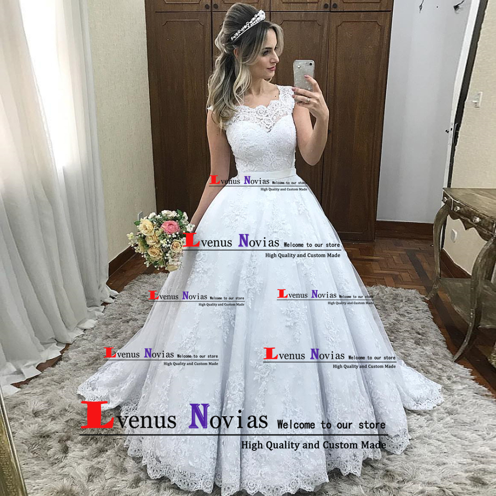 Cheap Wedding Gowns With Sleeves: Robe De Mariee Cheap China Bridal Gowns Elegant Cap