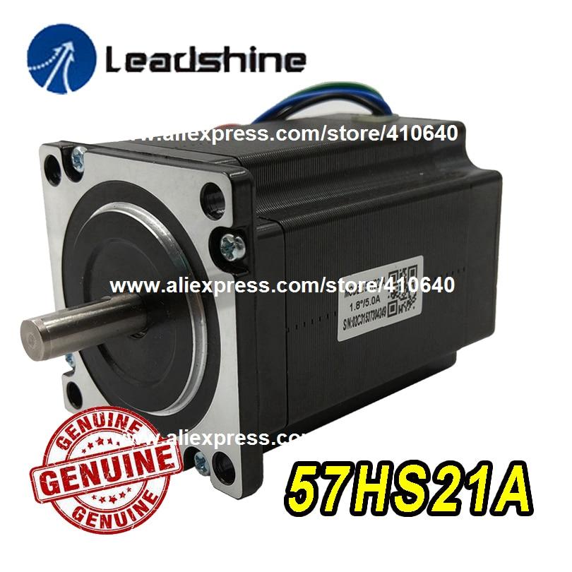 GENUINE Leadshine NEMA23 Stepper Motor 57HS21A 8mm Shaft 5A 2 1 N M Torque 76mm Length