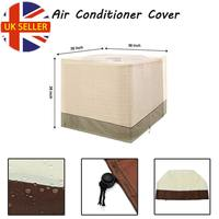 36x36x39 Inch Air Conditioner Protective Cover for Outside Units Durable AC Cover Waterproof Anti Dust Anti Snow Cleaning Cover