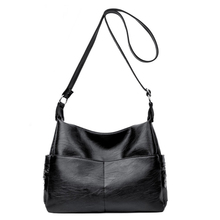New Women Handbag Special PU Leather bags Female messenger bag Splice grafting Vintage Shoulder Bags