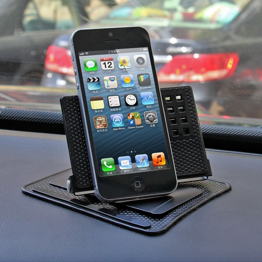 Vogue 360 Degree Rotated Mount Holder Sticky Non Slip Pad Car Dashboard Mat For Phone Gps Car