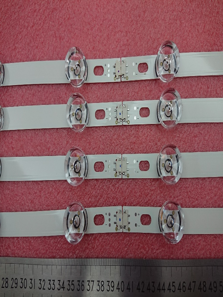 (New kit)8 PCS(4*A+4*B)LED strip bar Replacement for LG 39 inch TV 39LB561V 390HVJ01 innotek DRT 3.0 39 inch A B type