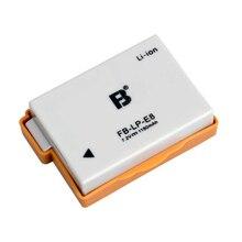 LP-E8 Battery pack LP E8 lithium batteries LPE8 For Canon EOS 550D 600D 650D 700D X4 X5 X6i X7i T2i T3i Digital camera Battery