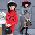 Children's clothing girls child turtleneck sweater child medium-long winter thickening pullover sweater girl sweater