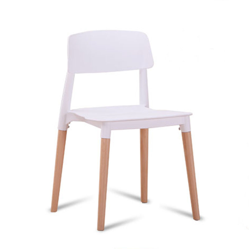 6 pieces for a lot PP Casual Modern Creative Dining Chairs6 pieces for a lot PP Casual Modern Creative Dining Chairs