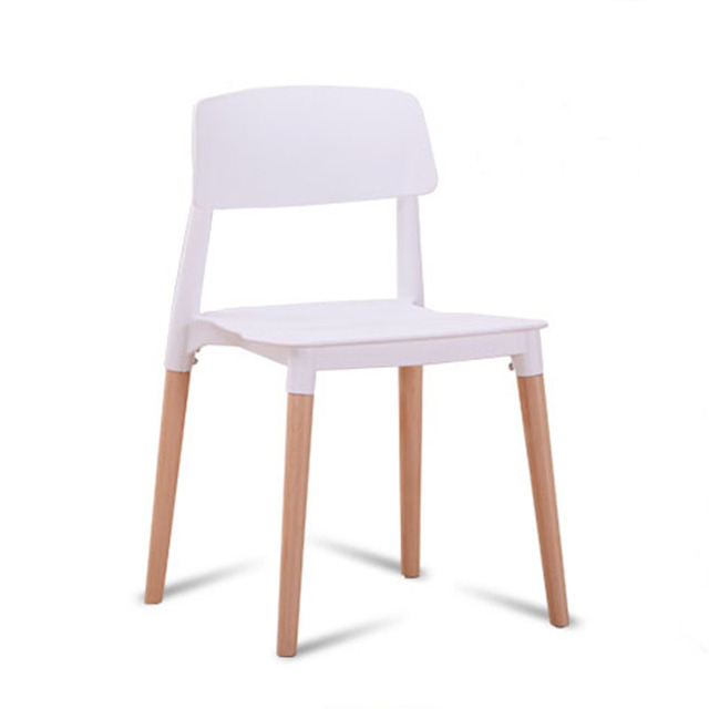 6 pieces for a lot PP Casual Modern Creative Dining Chairs