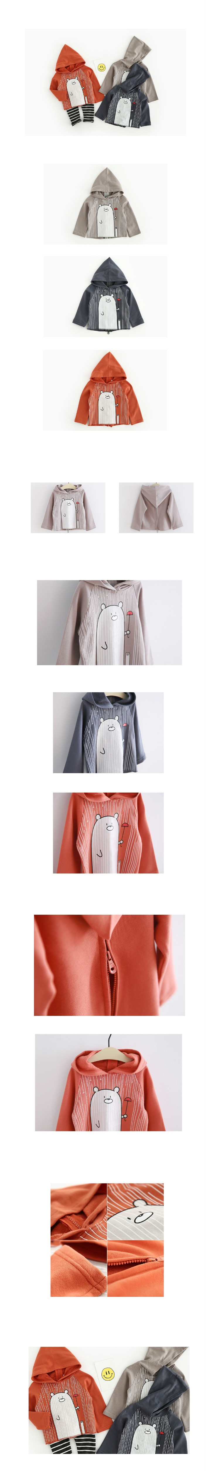 Newborn Baby Kids Boy Bear Hooded sweatshirt Infant Babies Cute Cartoon rain Hoodies baby t shirt Clothes Outfit drop shipping (4)