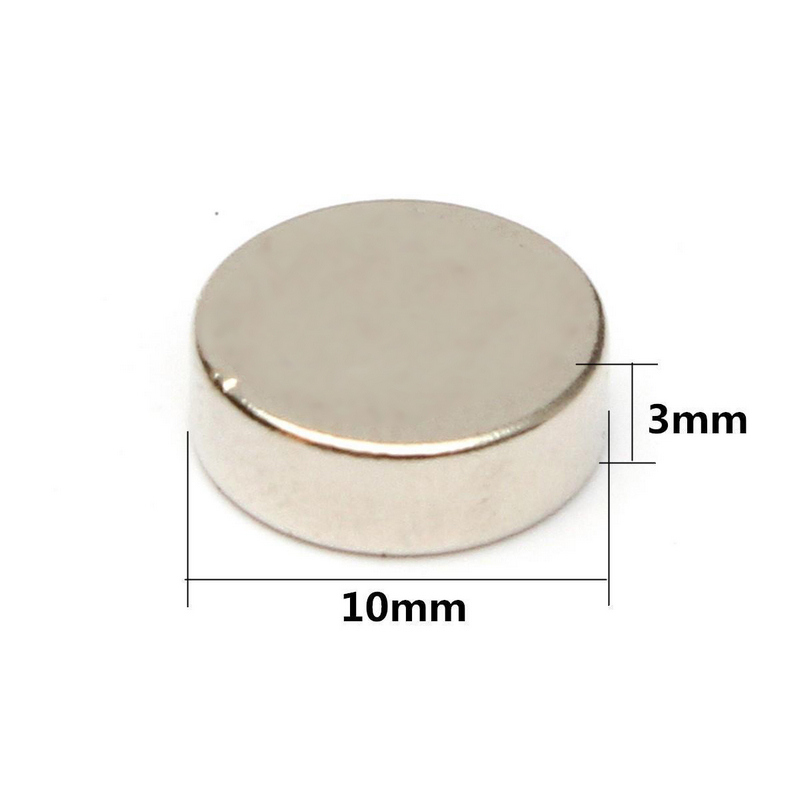20PCS Men Collar Stays Round Disc Magnets Rare Earth Neodymium Replacement Magnet For Mens Dress Shirt Metal Collar Stays 9x3mm