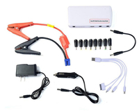Car Power Bank Car Jump Starter The Car Jump Starter Mini Portable Emergency Charger For Petrol