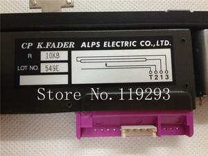 Image 3 - ใหม่ Original CP K.FADER ALPS ELECTRIC CO, LTD 10KB B10K 13MM T Handle กับมอเตอร์ Rail Fader NC ไต้หวัน SLIDE Potentiometer 10PCS